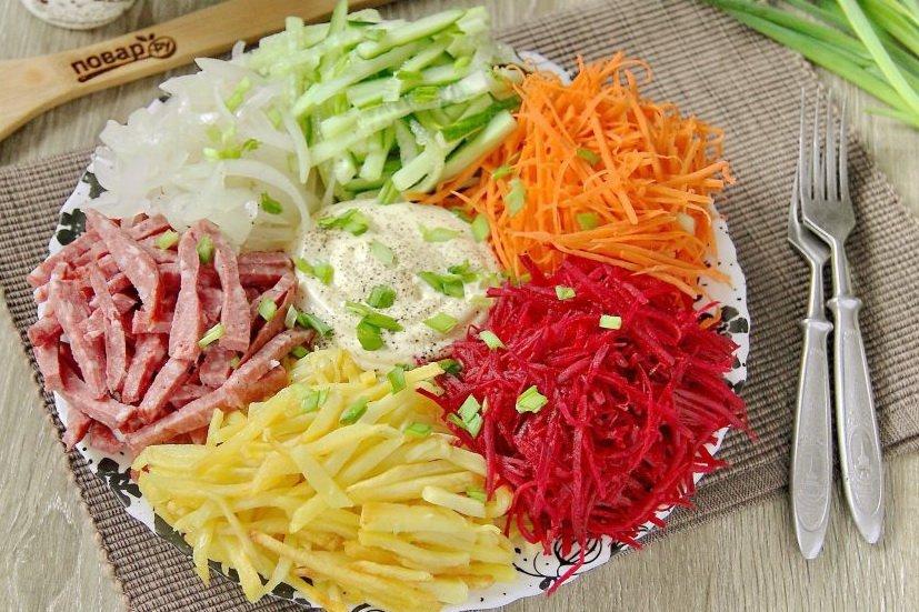 инсталляция фруктов, салат огни парижа рецепт с фото пошагово загадочных