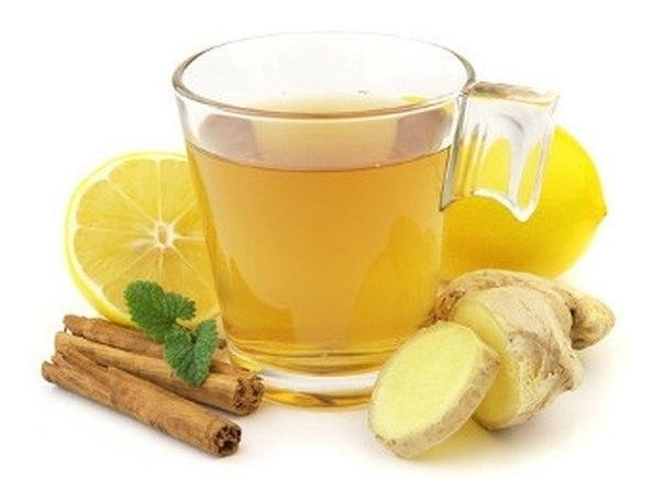 Имбирный чай при диете