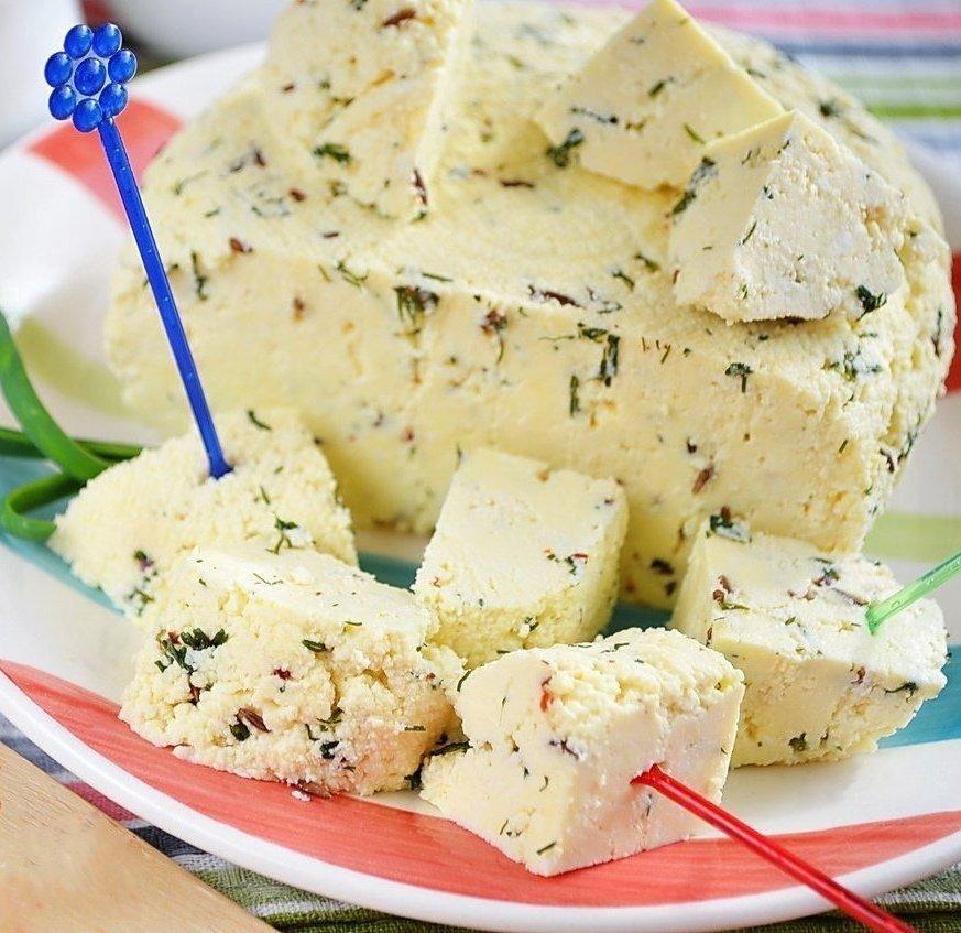 сыр из творога рецепт с фото пошагово блоки