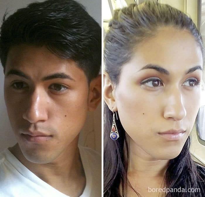 Фотографии адама который сменил пол