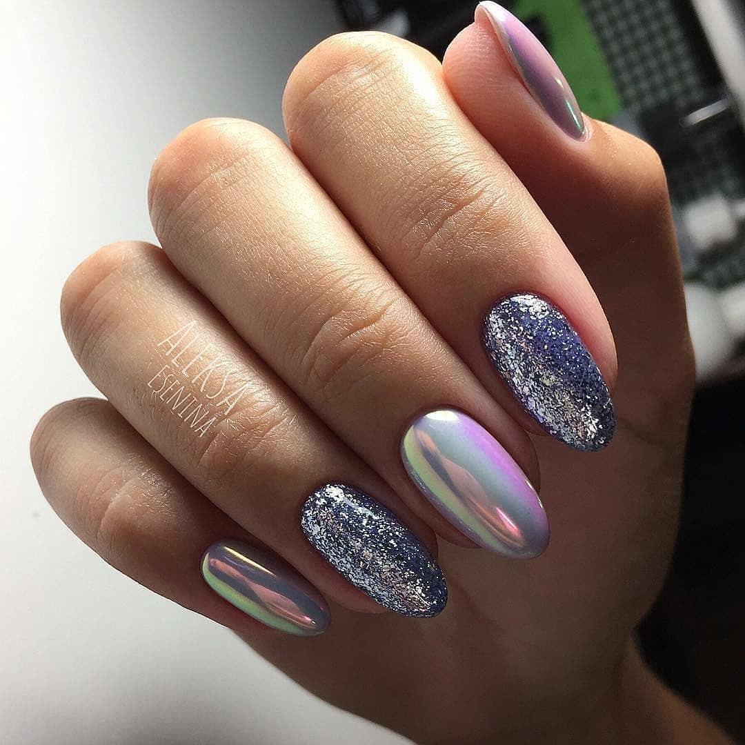 Дизайн ногтей со втиркой фото новинки
