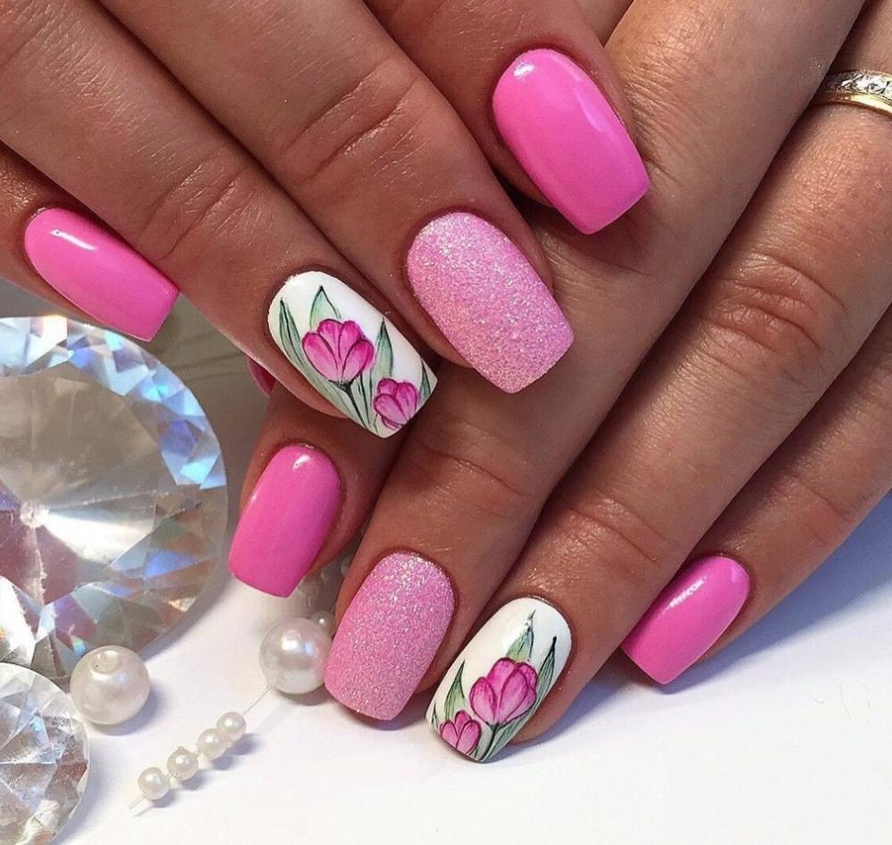 Красивый дизайн ногтей гель-лаком: ТОП-10 трендов Весна-Лето