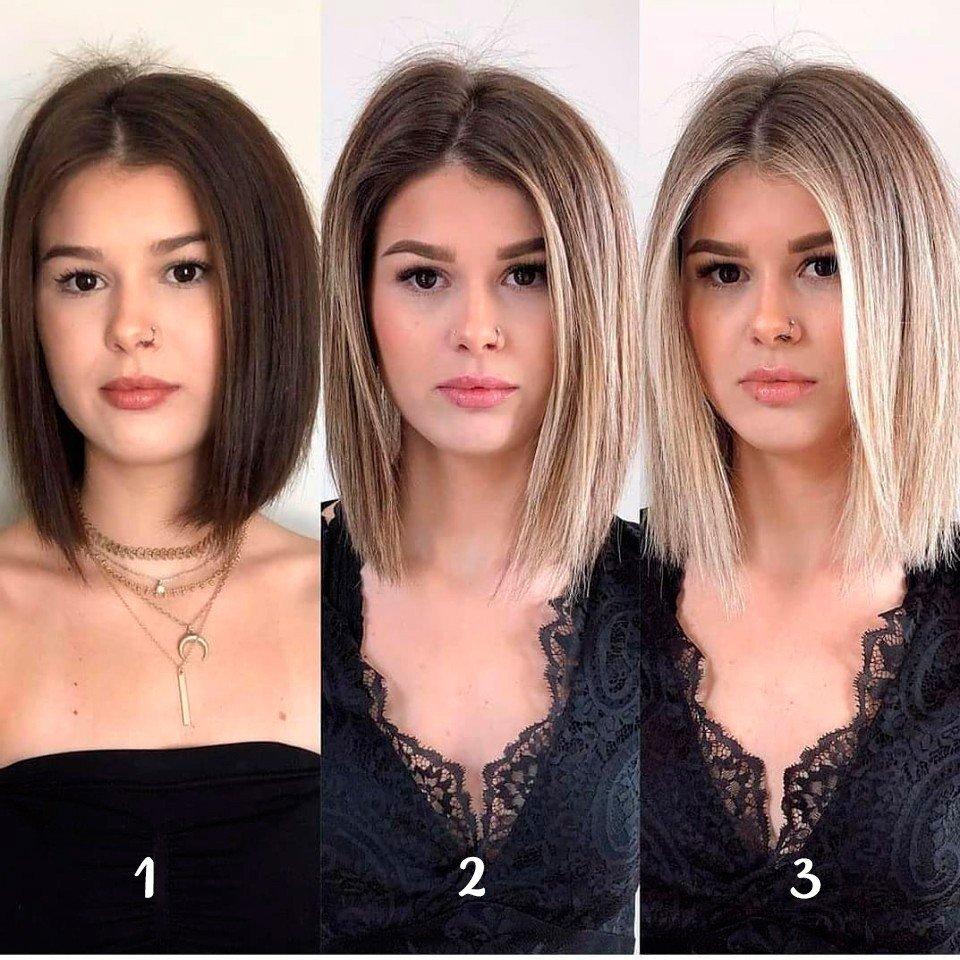 как цвет волос меняет внешность фото жизни