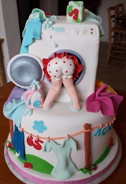 торт для хозяюшки фото