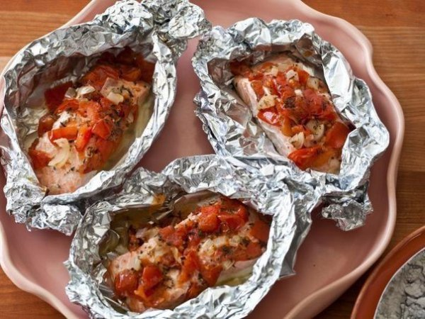 Блюда запеченные в фольге в духовке