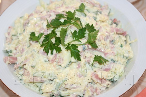 Салат неженка рецепт с фото