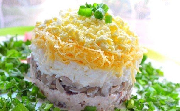 проводится гормональными салаты из курицы с грибами рецепты с фото это пережила