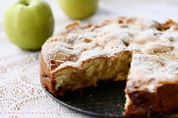Шарлотка с яблоками рецепт в граммах