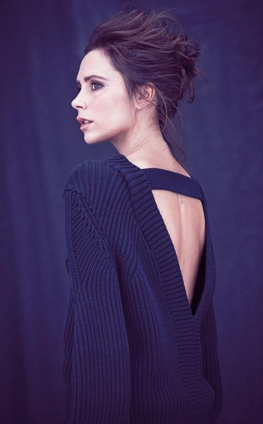 Victoria Beckham for Telegraph UK by Matthew Brookes...