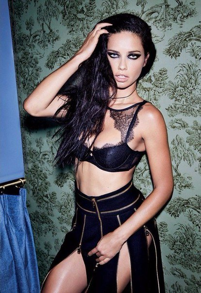 Adriana Lima for LOVE Magazine by Carin Backoff...