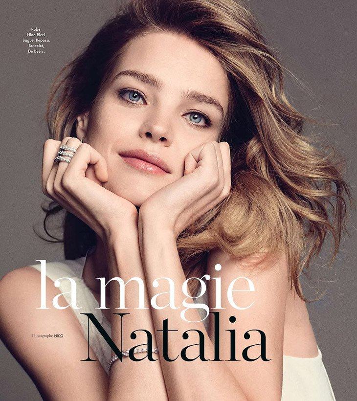 Natalia Vodianova by Nico.