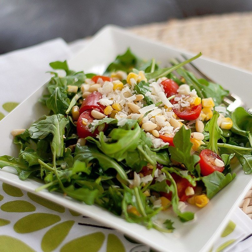 Диета яйца салат
