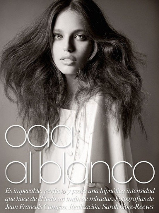 Emily Didonato for Vogue Latin America by Jean-Francois Campos.