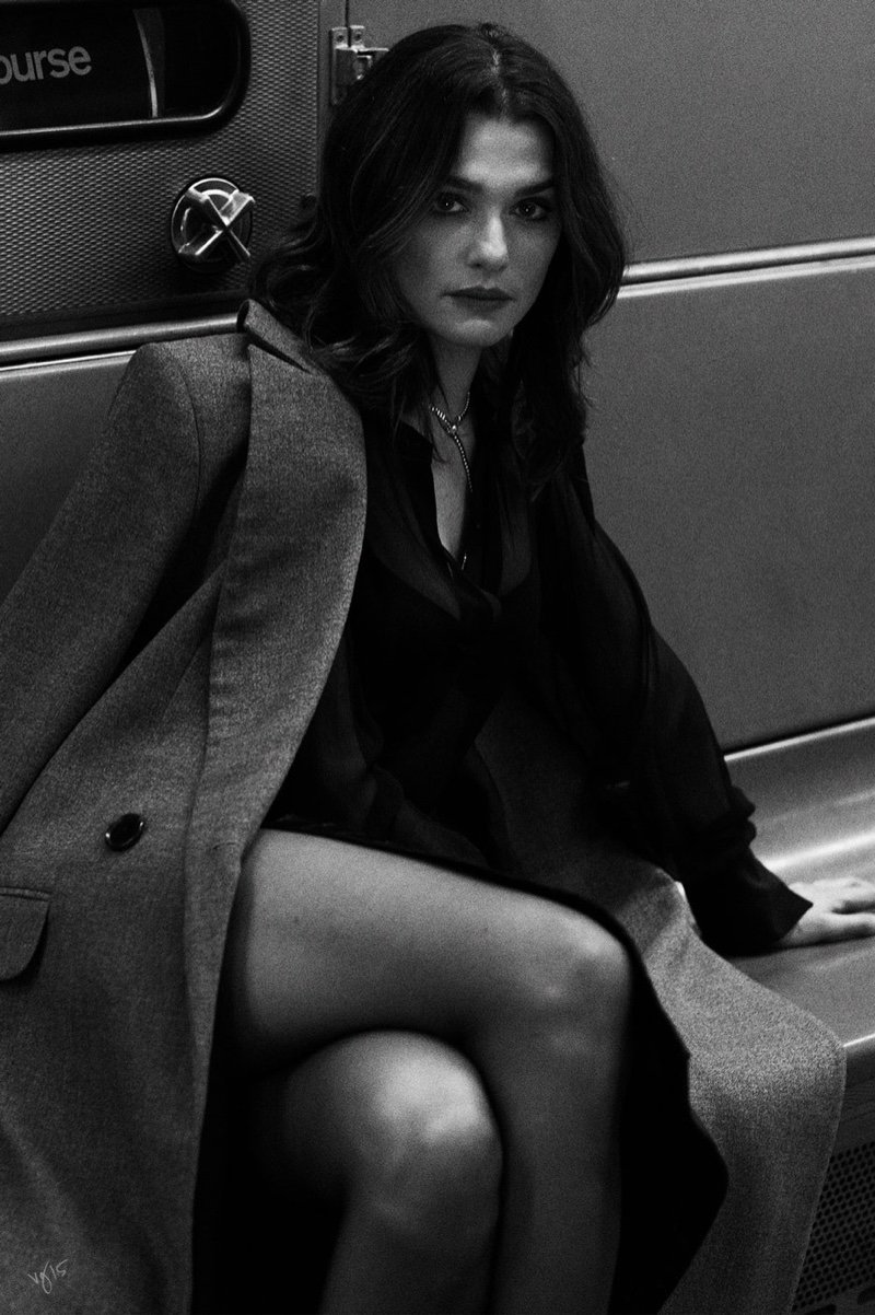 Rachel Weisz for Violet Grey by Ben Hassett.