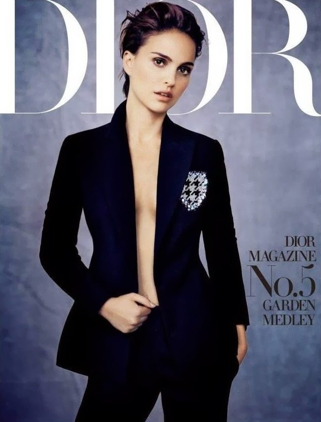 Natalie Portman for Dior Magazine by Paolo Roversi.