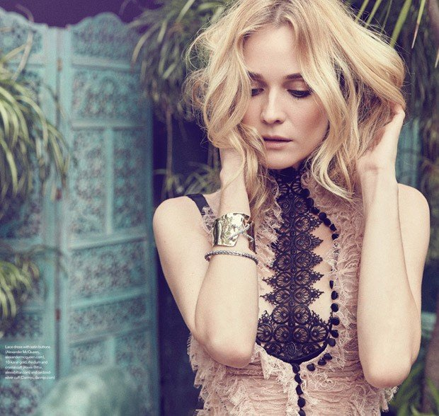 Diane Kruger for Elle Canada by Max Abadian.