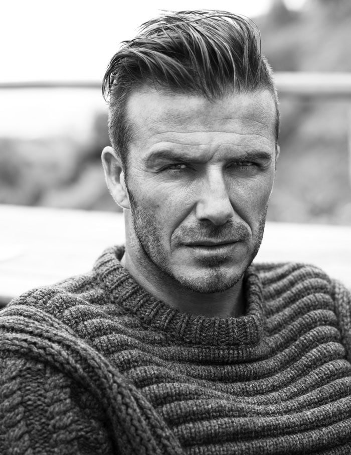 David Beckham by Josh Olins.