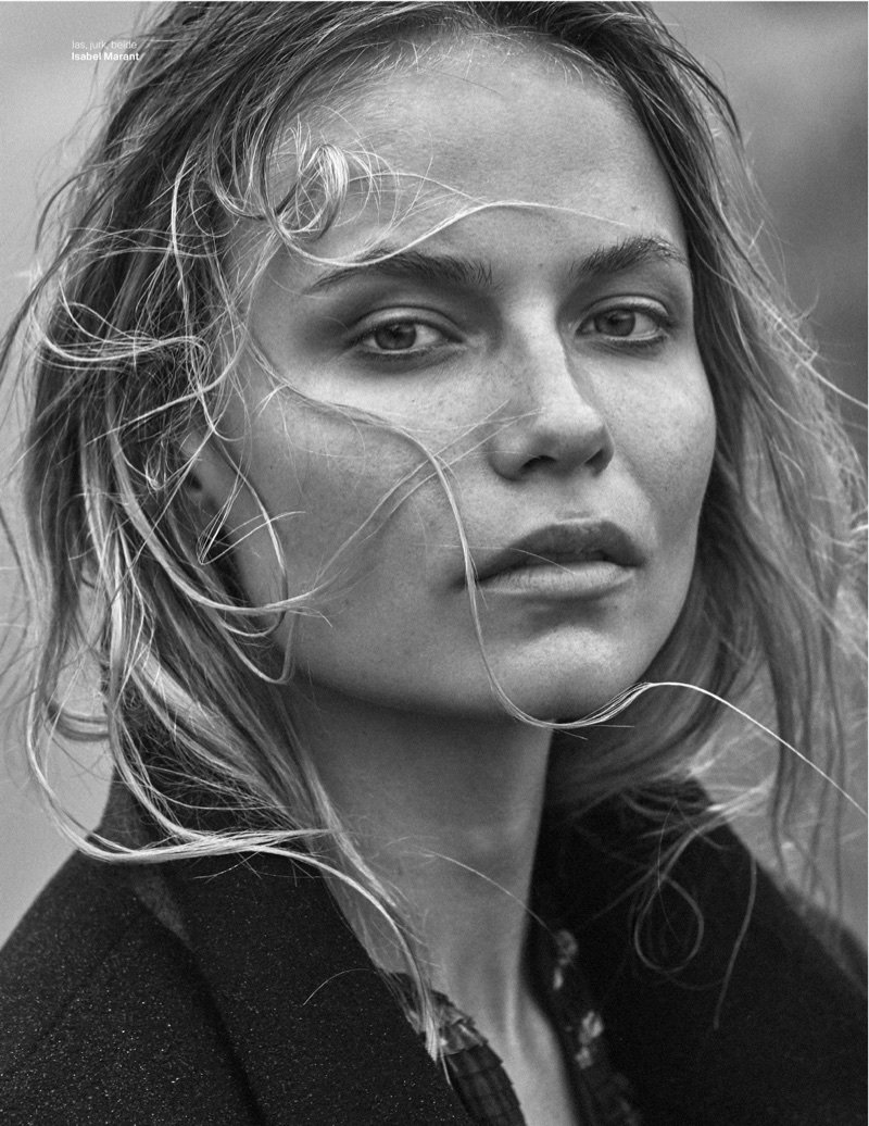 Natasha Poly for Vogue Netherlands by Alique.