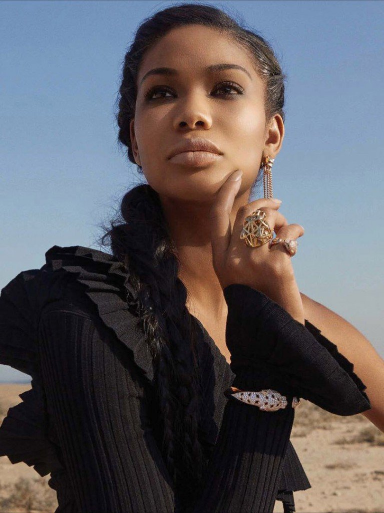 Chanel Iman for EMIRATES WOMAN by Louis Christopher.
