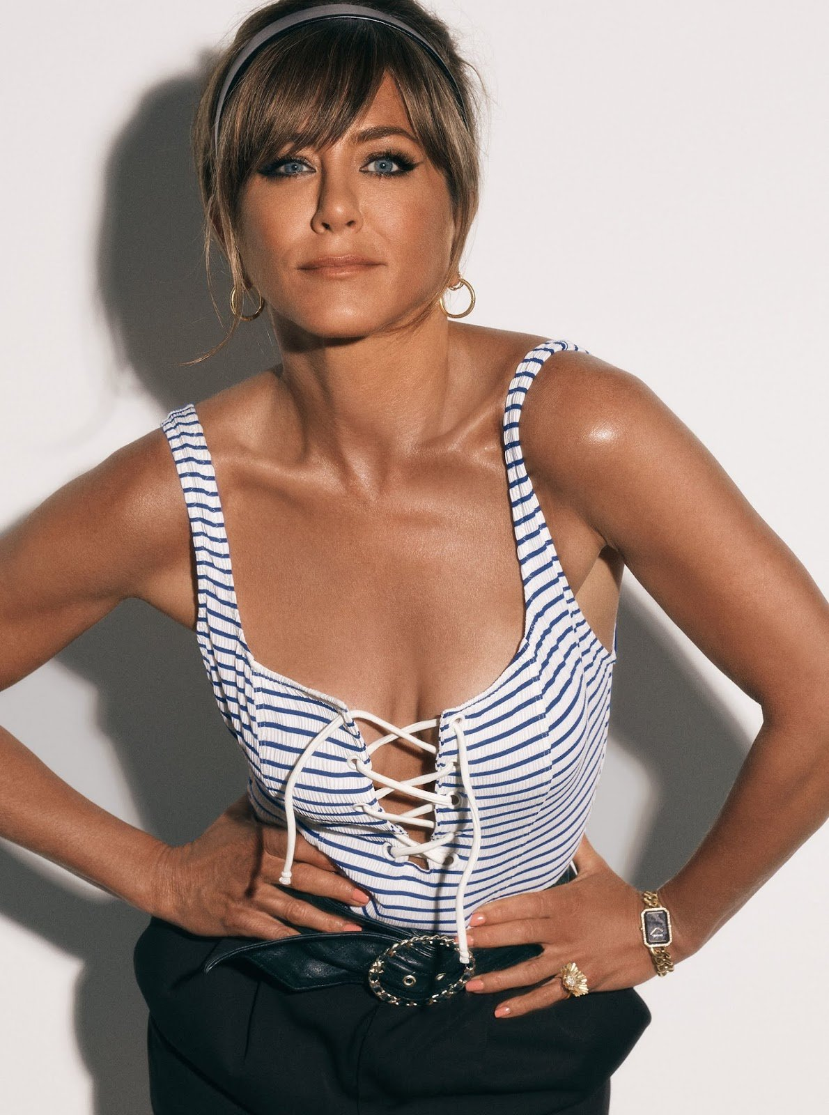 Jennifer Aniston for InStyle USA by Michael Thompson.