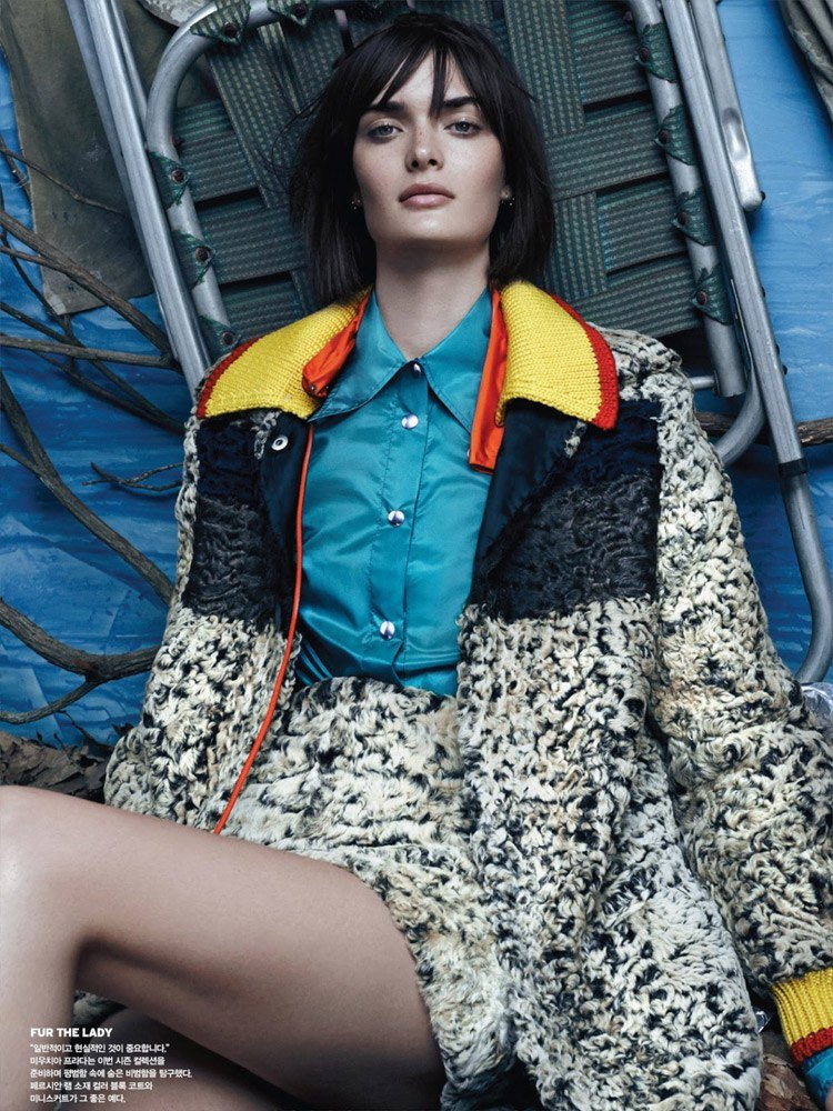 Sam Rollinson for VOGUE Korea by Rafael Stahelin.