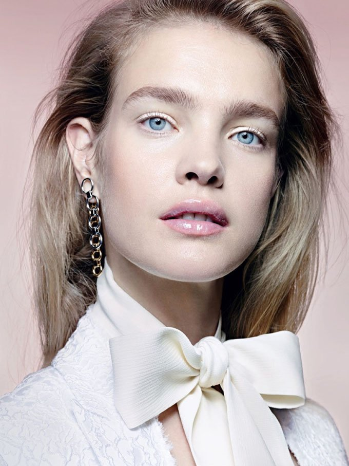 Natalia Vodianova for Allure Magazine Russia by Liz Collins.