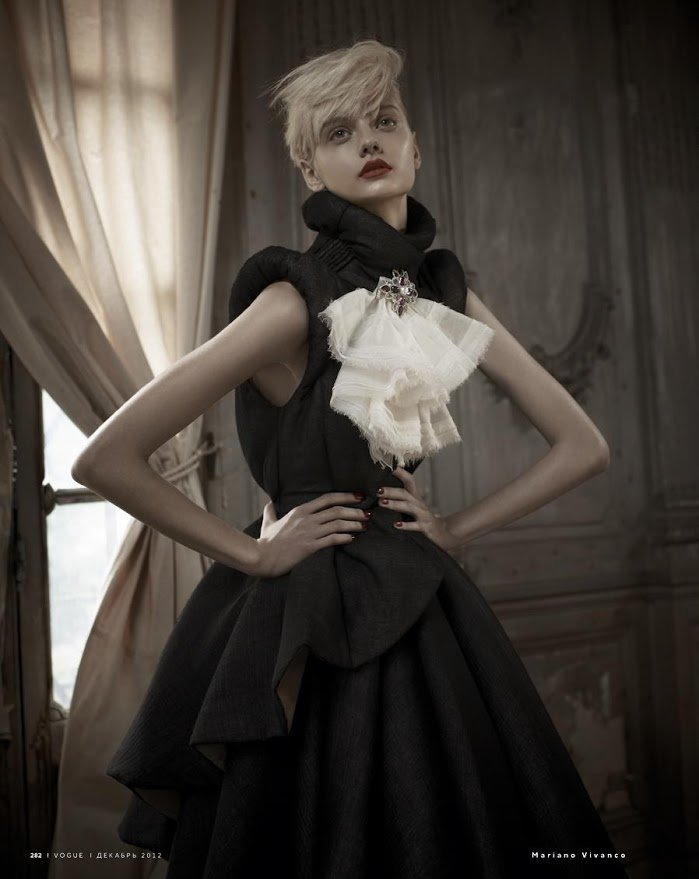 Nastya Kusakina by Mariano Vivanco.