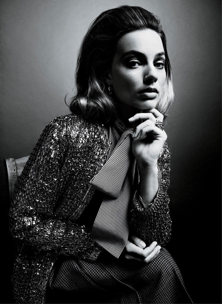 Margot Robbie for American Vogue by Inez & Vinoodh.
