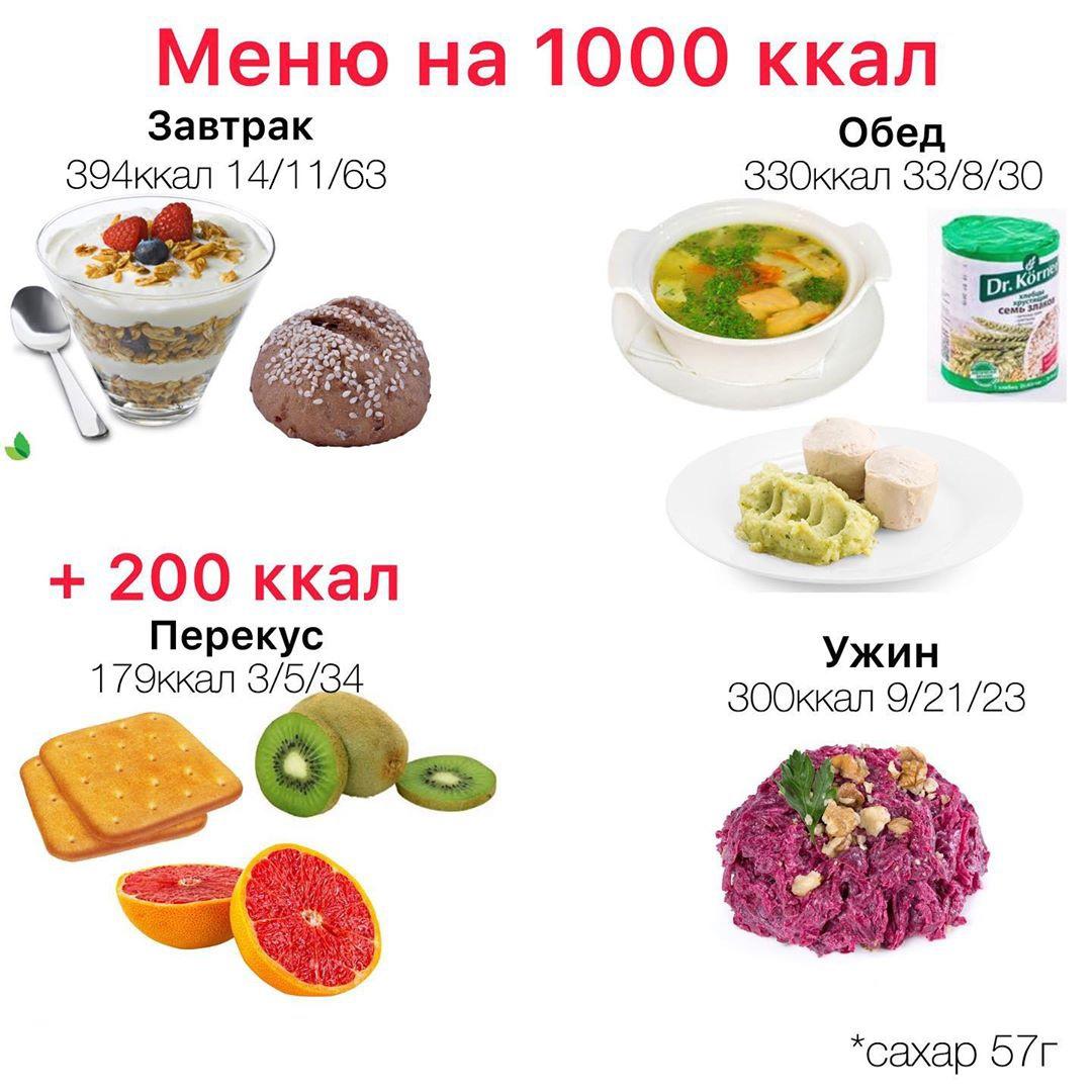Похудеть на 800 калориях
