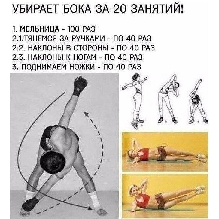 Упражнения без инвентаря картинки