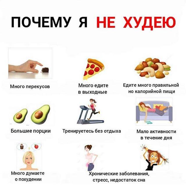 Чтобы похудеть нужно заниматься