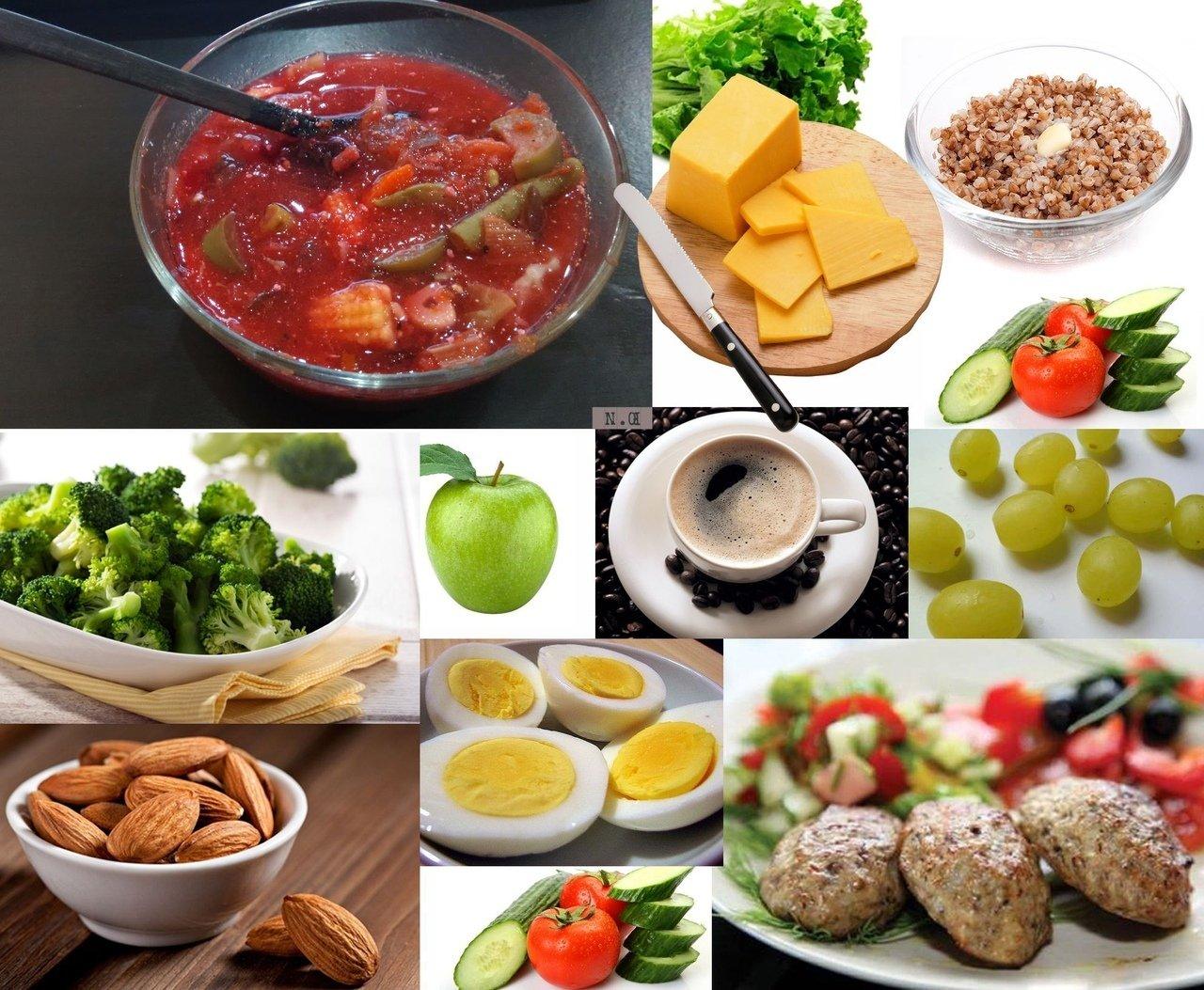Правильное питание для похудения опыт