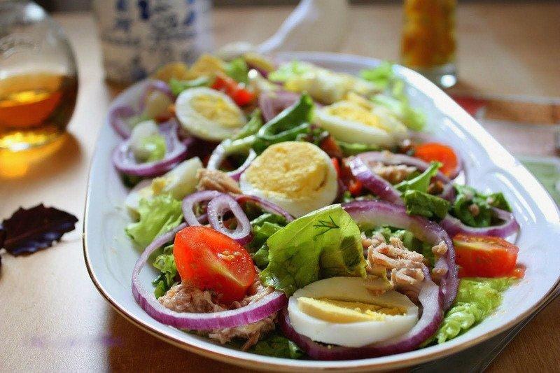 Салат для спортивной диеты