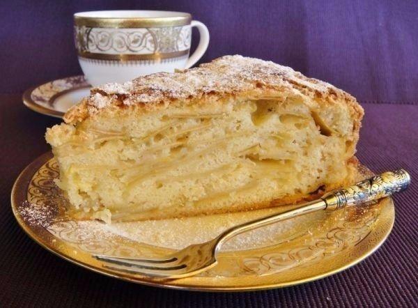 Яблочный пирог шарлотка простой