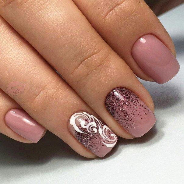 Дизайн ногтей на короткие ногти 2017-2018 новинки