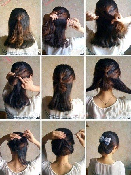 Делать модные причёски и как