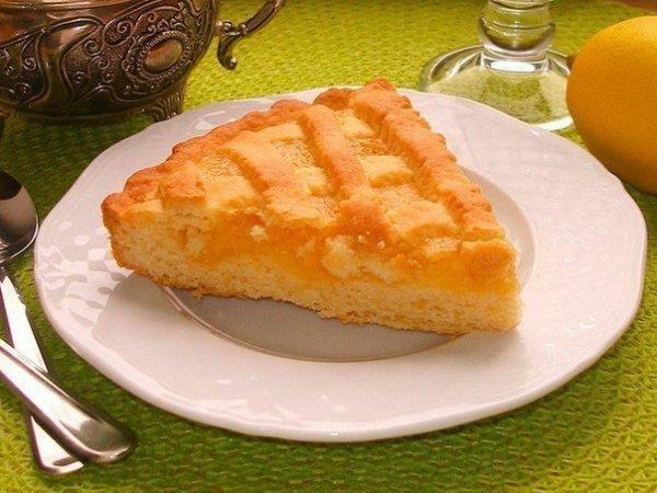 Лимонный пирог вкусный рецепт
