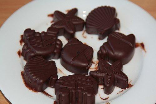 Как в домашних условиях делать шоколадные конфеты в домашних условиях