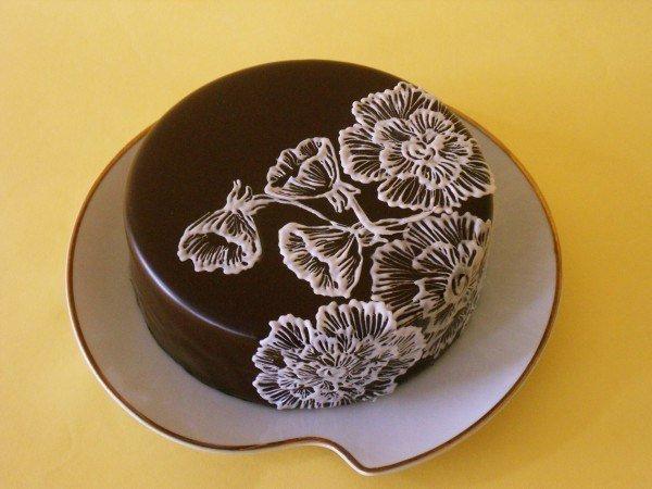 Рисунки на торте из айсинга