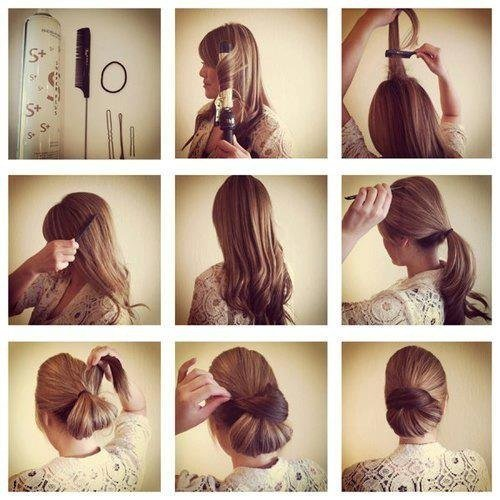 Быстрые причёски в домашних условиях