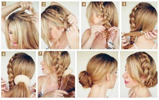 Прически для волос длинных в домашних условиях поэтапно