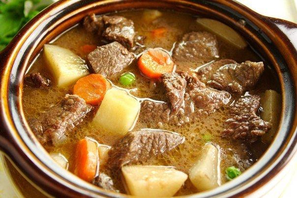 Как приготовить второе блюдо из говядины