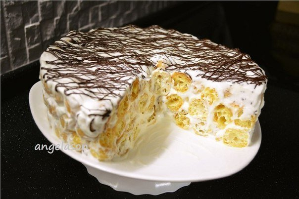 Рецепт торт из заварного теста