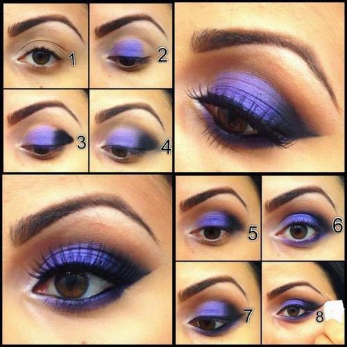 Как красиво сделать макияж карим глазам