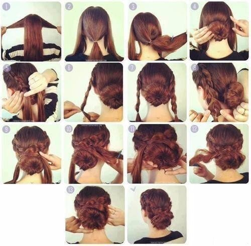Прически для длинных волос своими руками инструкции