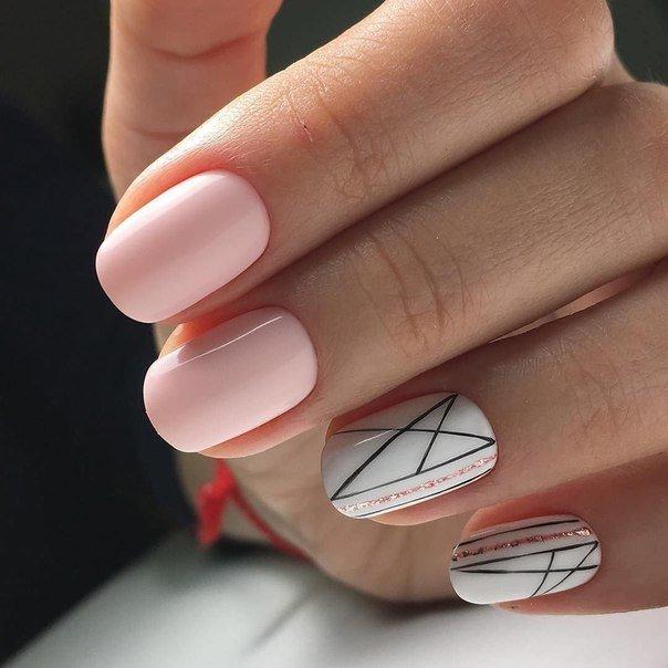 Дизайн ногтей гель лаком новинки 2018 в контакте