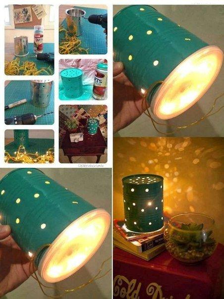 Светильник для спальни своими руками из подручных материалов 22