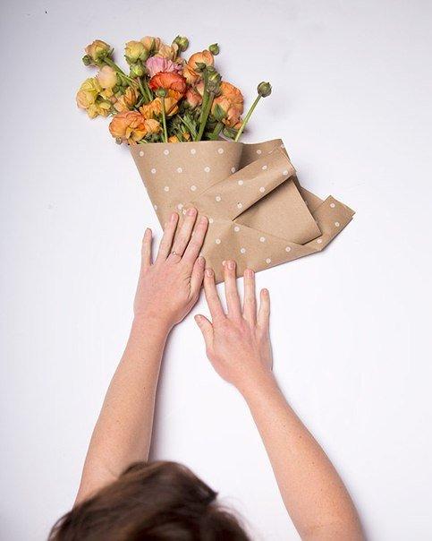 Как красиво упаковать букет своими руками фото