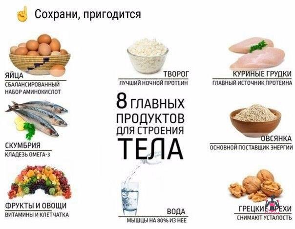 Как похудеть употребляя много белка